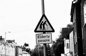Elderly People BW 020