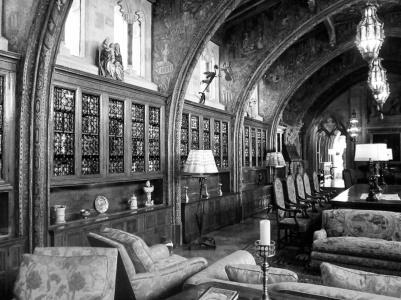 San Simeon LibraryBW