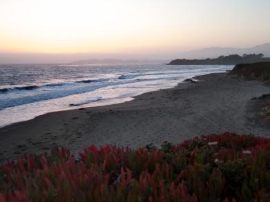 San Simeon sunset